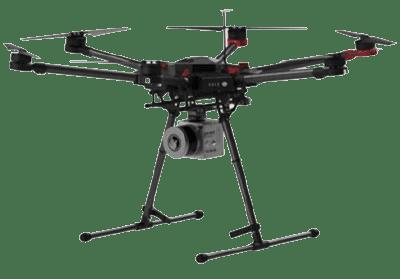 Soluciones radiocontroladas SRCC con drones